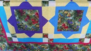 Close up of Big Block Quilt